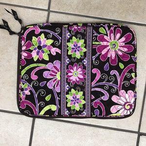 Vera Bradley Laptop Sleeve In Purple Punch